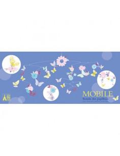 Mobile en papier Ronde des papillons