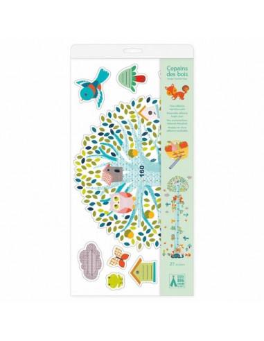 Stickers toise Copains des bois - Djeco