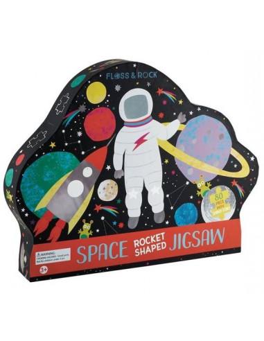 Puzzle Espace 80 pièces - Floss & Rock