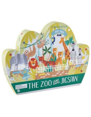 Puzzle Zoo 80 pièces - Floss & Rock