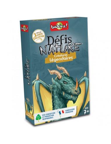 Défis nature créatures légendaires -...