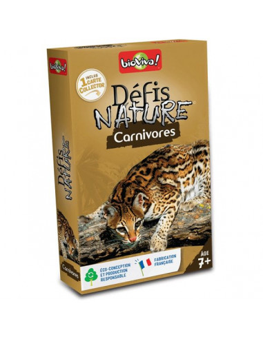 Défis nature carnivores - Bioviva