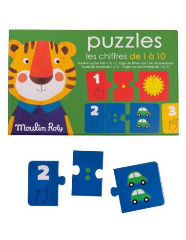 Puzzles Les chiffres Les Popipop -...