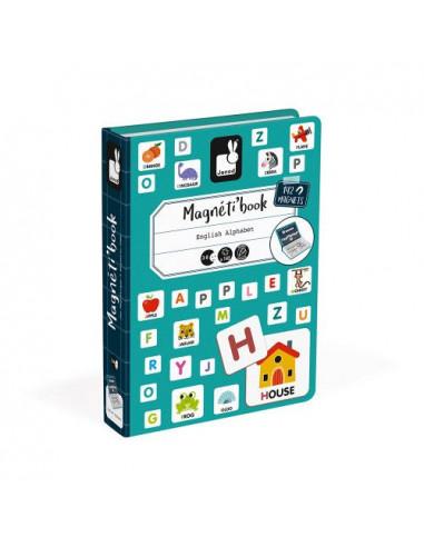 Magnetibook Alphabet Anglais - Janod
