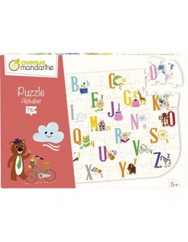 Puzzle éducatif alphabet 76 pièces -...