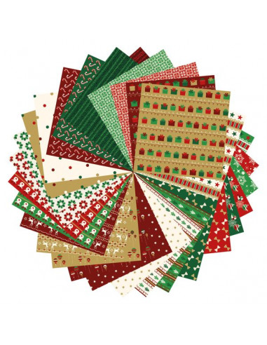 Origami Paper Christmas - Avenue...