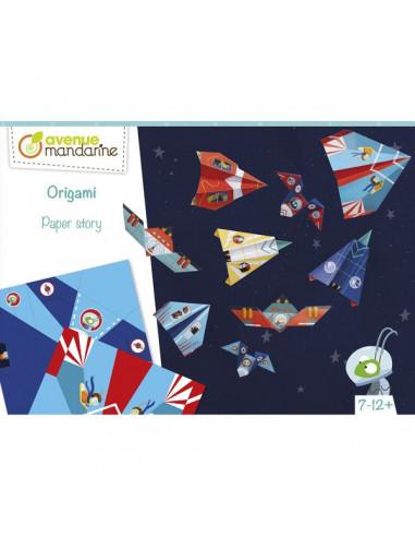 Boite créative Origami avions fusées...