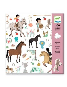 Stickers Les chevaux