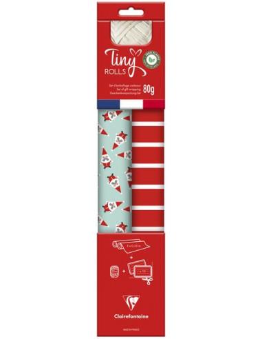 Set d'emballage cadeaux Père-Noël -...