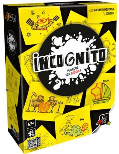 Incognito - Jeu Gigamic