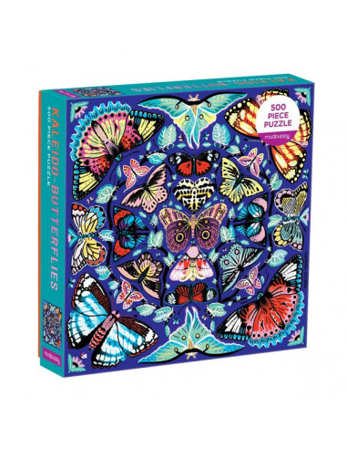 Puzzle Kaleido Butterflies 500 pièces