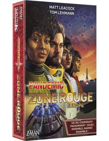 Pandémic zone rouge - Europe