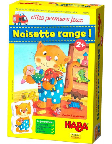 Noisette range - jeu Haba