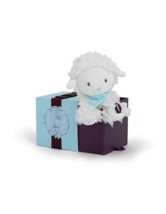 Doudou peluche agneau 19 cm...