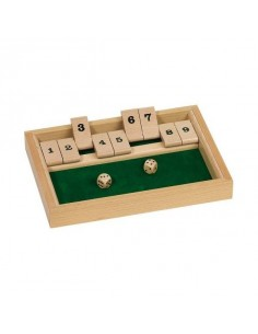 Jeu Shut the box - ferme la...