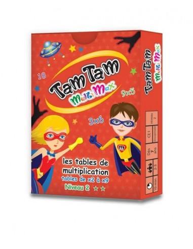 Jeu TamTam multiplication multimax 2...