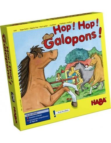 Jeu de collecte Hop! Hop! Galopons -...
