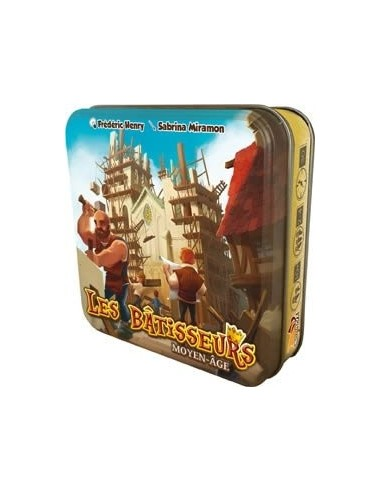 Les bâtisseurs du Moyen-Age - jeu Bombyx