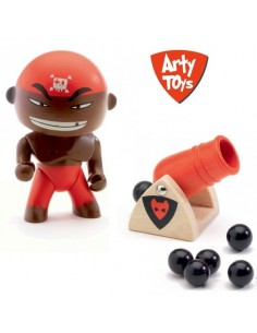 Figurine pirate Arty Toys...
