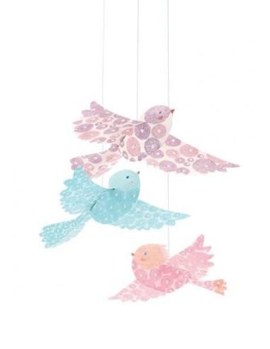 Décoration à suspendre oiseaux...