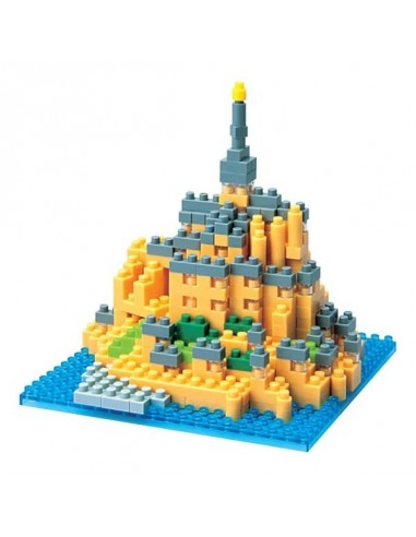 Nanoblock Mont Saint Michel - mini...