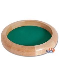 Piste de dé en bois 40 cm