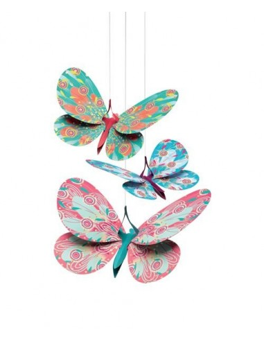 Décoration à suspendre papillons...