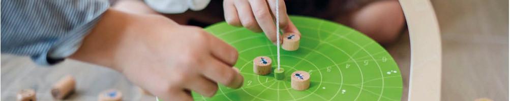 jeux de société d'adresse et de tactique pour enfant