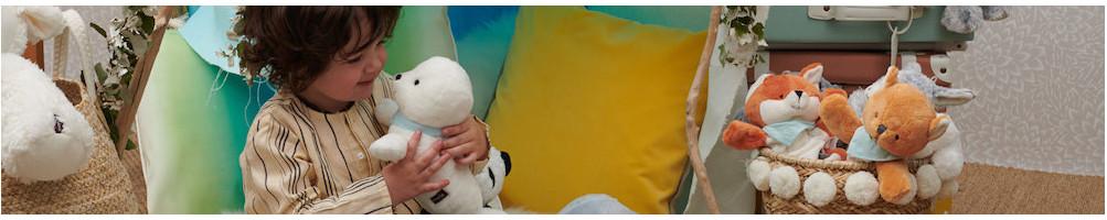 Doudous et peluches originaux pour naissance enfant et bébé