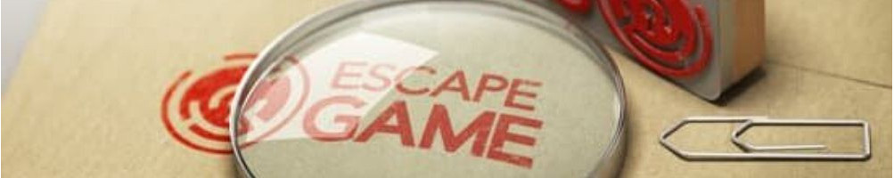 Escape game et jeux d'enquête