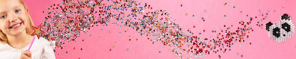 Pixel et strass - activités créatives - La Poule à Pois