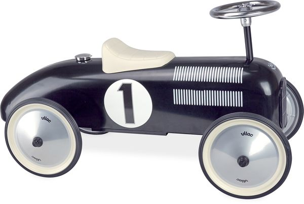 voiture porteur métal noir vilac
