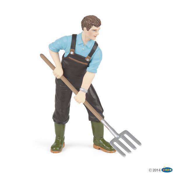 Figurine jardinier - Papo