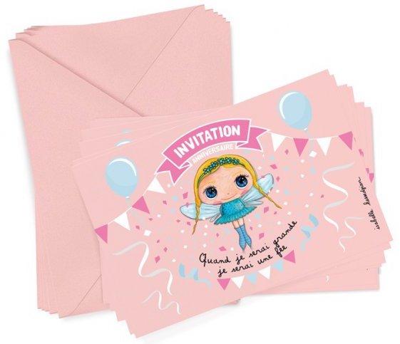 Invitation pour l'anniversaire d'une petite fille