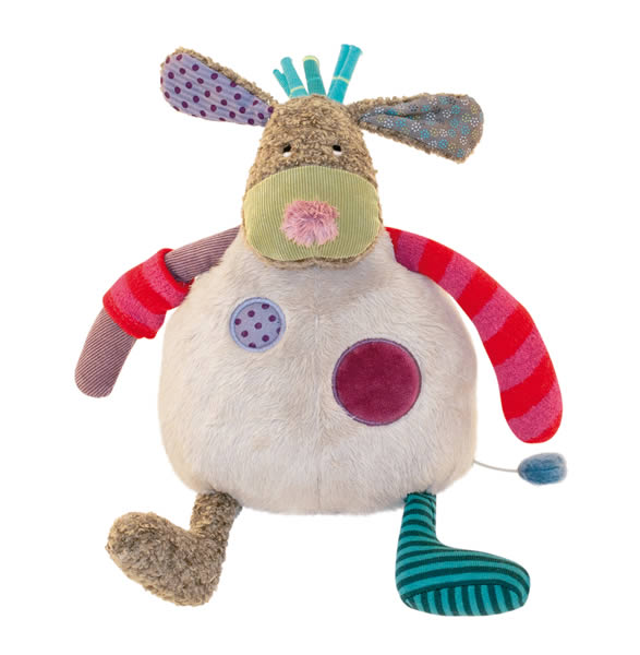 peluche musicale chien moulin roty