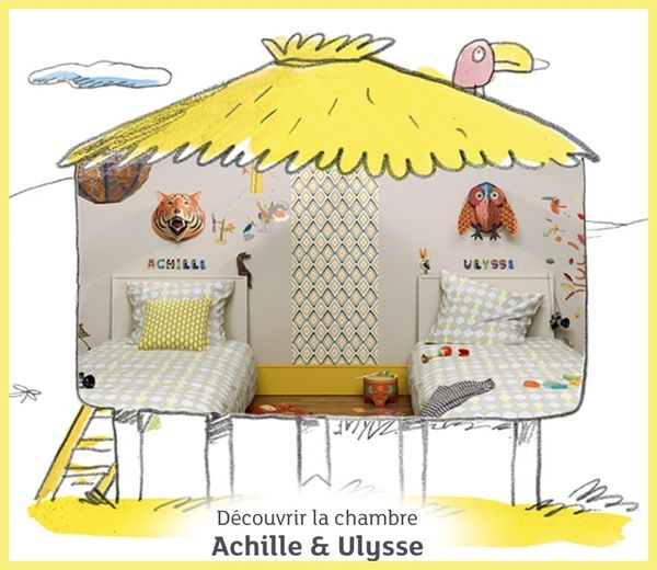 chambre achille ulysse little big room djeco