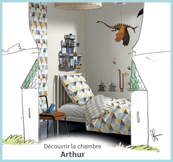 chambre arthur little big room djeco