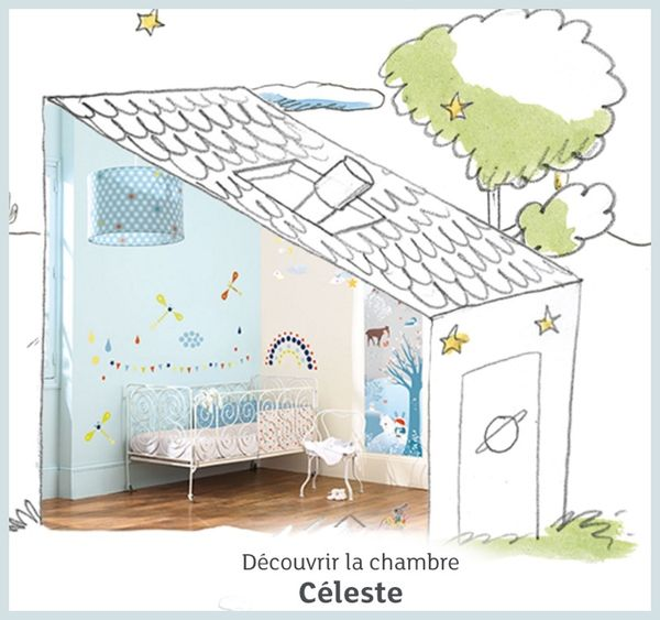 chambre céleste little big room djeco