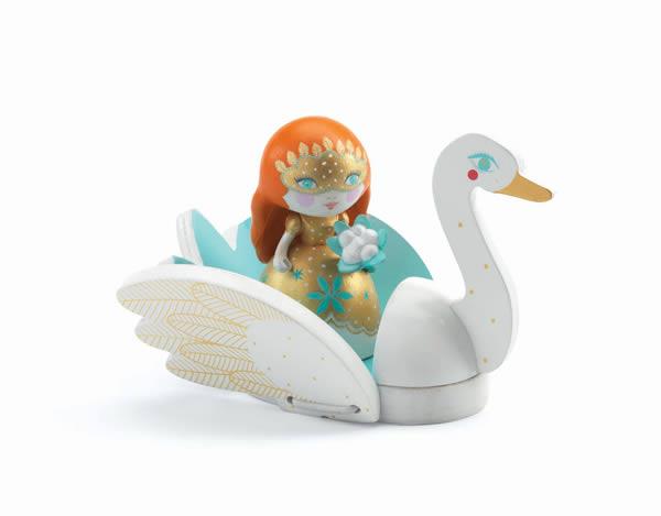 Figurine Arty Toys princesse Barbara & Ze swan - Djeco