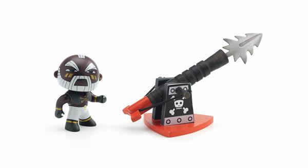 Figurine pirate Arty Toys Marcus & Ze Harpoon - Djeco