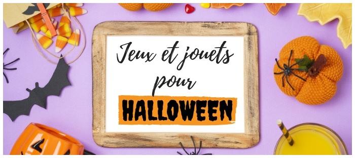 jeux et jouets halloween