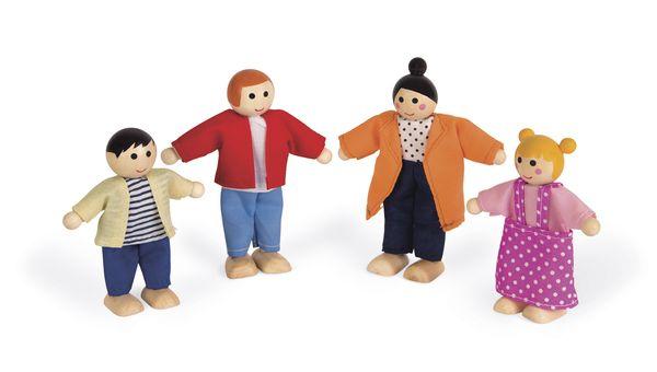 Personnages pour maison de poupées - Janod