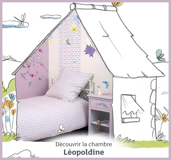 chambre léopoldine little big room djeco