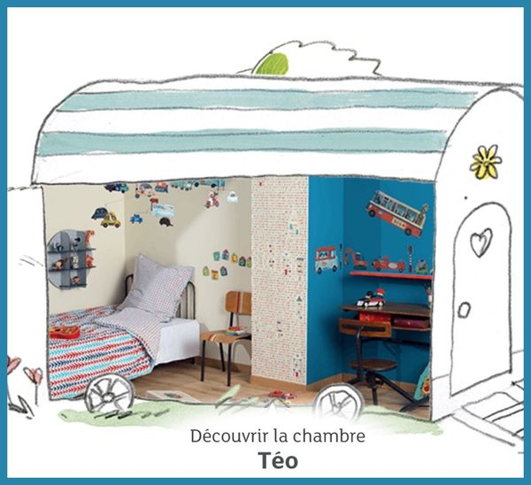 chambre téo little big room djeco