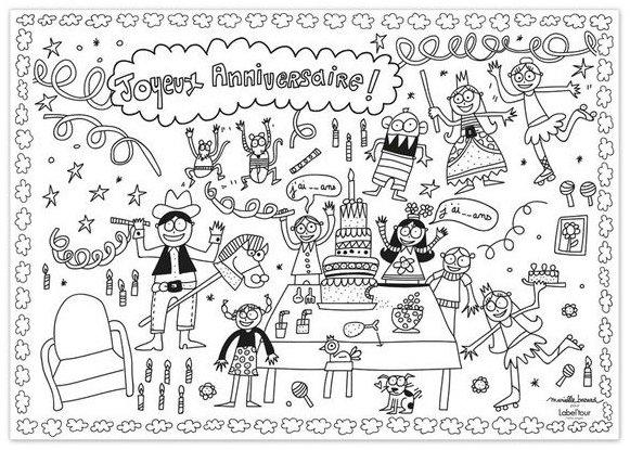 Animation pour un goûter d'anniversaire