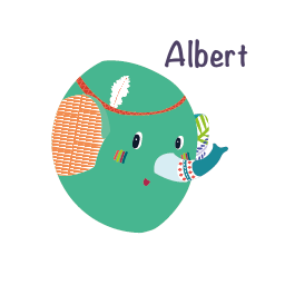 albert elephant lilliputiens