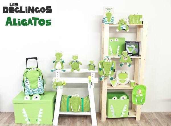 Collection Aligatos l'alligator Les Déglingos