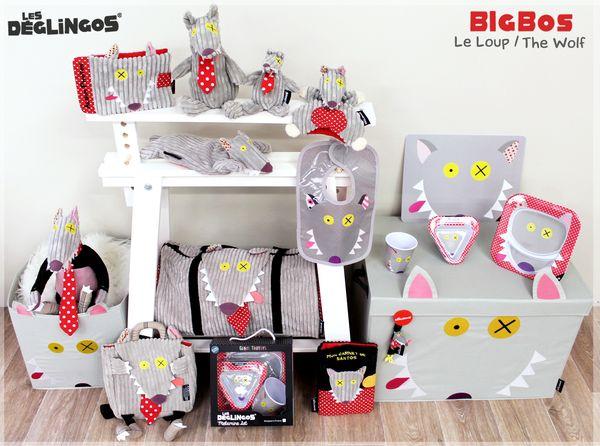 Collection Bigbos le loup Les Déglingos
