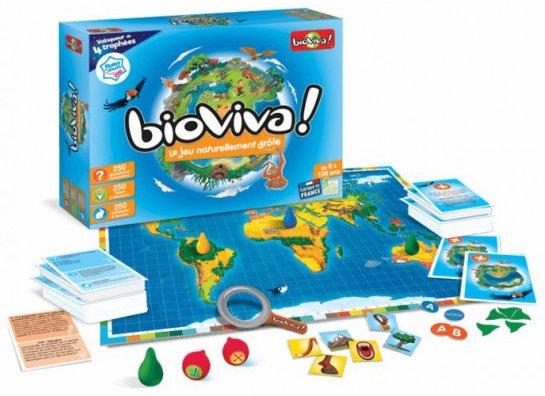 Bioviva jeu pour apprendre la géographie