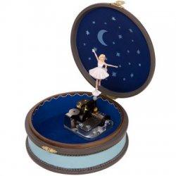 Boîte à bijoux ronde Ballerina Trousselier